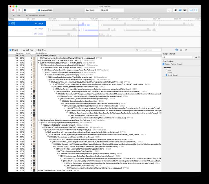 debugging Xcode