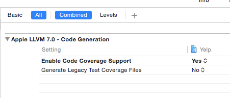 Enable code coverage support