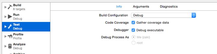 Generate coverage data